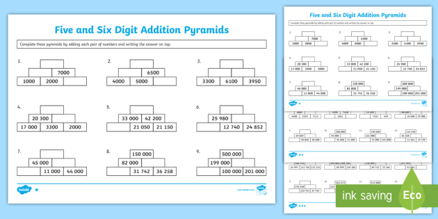 digit addition pyramids worksheet  worksheet  addition pyramids  digit addition pyramids worksheet  worksheet  addition pyramids  worksheet  addition pyramids