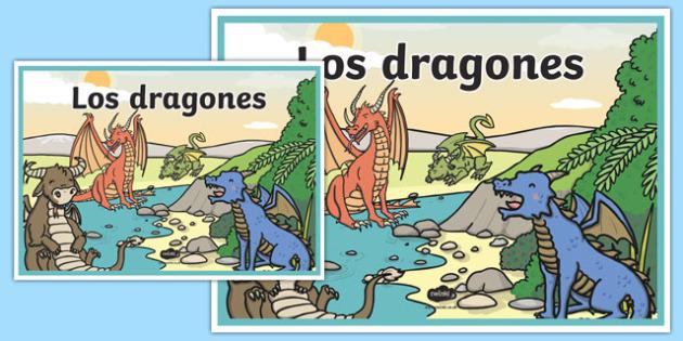 Cartel Los dragones
