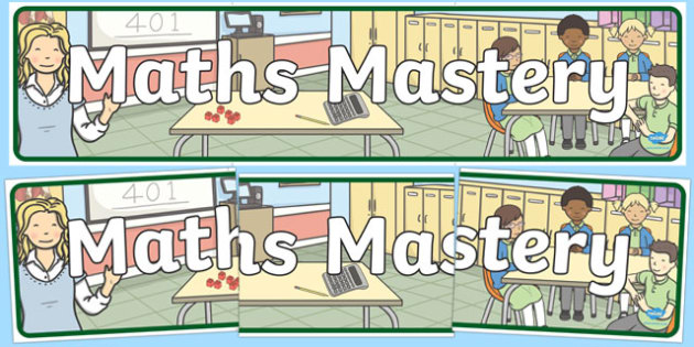 Maths Mastery Display Banner