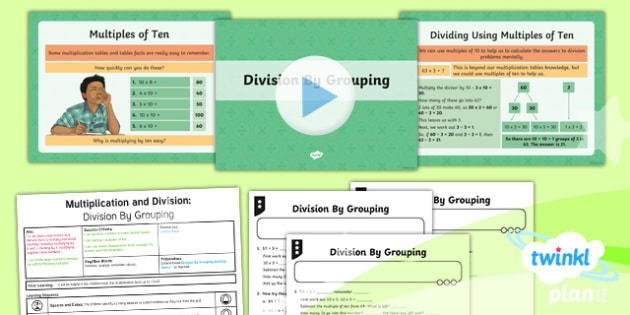 PlanIt Maths Y4 Multiplication and Division Lesson Pack Mental Multiplication and Division (4)