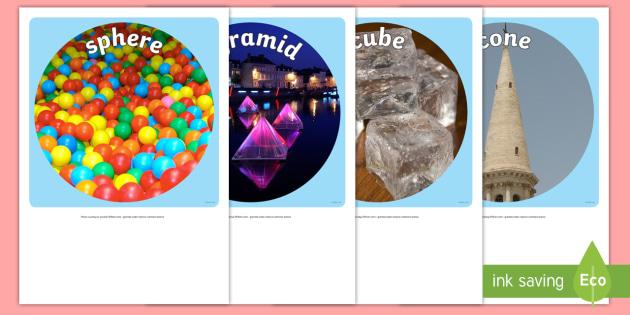 3D Shapes Display Photo Cut Outs - australia, 3d, shapes, display