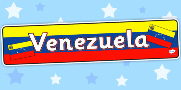Venezuela Display Banner - venezuela, banner, display, countries