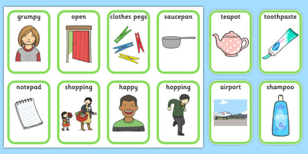 Medial p Playing Cards - speech sounds, phonology, articulation, speech therapy, dyspraxia