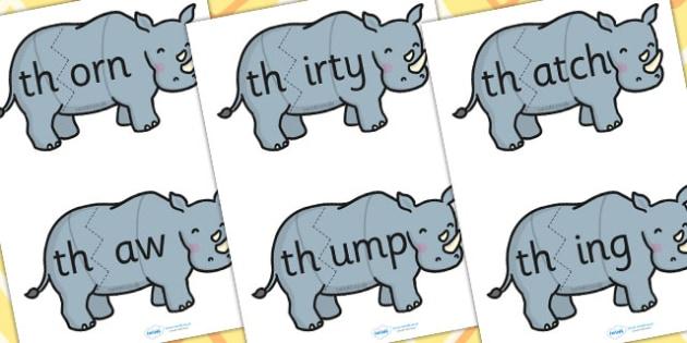 th Sound And Vowel Animal Jigsaw - sound, vowels, jigsaw, animals