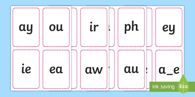Middle East Phase 5 Phoneme Flashcards - assessment, quick ...