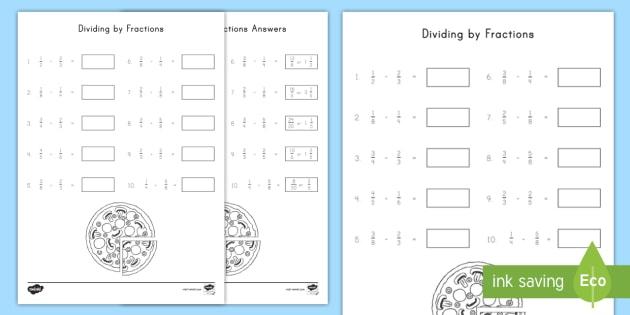 dividing by fractions worksheet  worksheet  fractions division  dividing by fractions worksheet  worksheet  fractions division th  grade nf