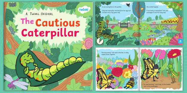 FREE! - The Cautious Caterpillar eBook (teacher made)