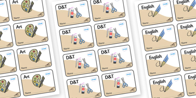 Buzzard Themed Editable Book Labels - Themed Book label, label, subject labels, exercise book, workbook labels, textbook labels