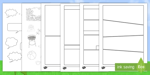 ks2 my summer holiday comic worksheet summer break back to school. Black Bedroom Furniture Sets. Home Design Ideas