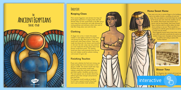 The Ancient Egyptians eBook - ancient eygptions, e book, eygpt