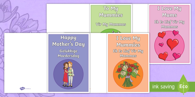 New happy mothers day greeting cards englishafrikaans new happy mothers day greeting cards englishafrikaans mom mommy m4hsunfo Images