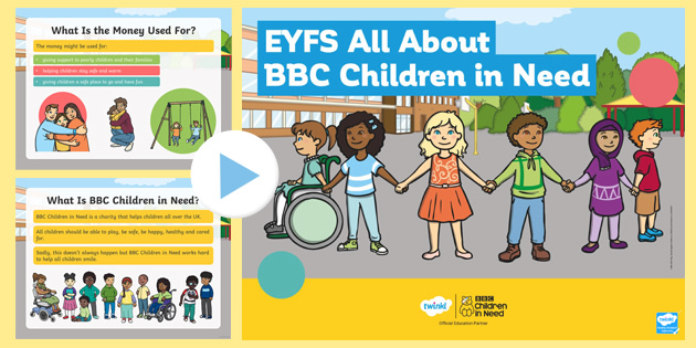 EYFS All About BBC Children in Need PowerPoint
