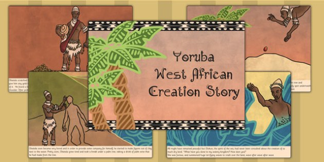 african creation story