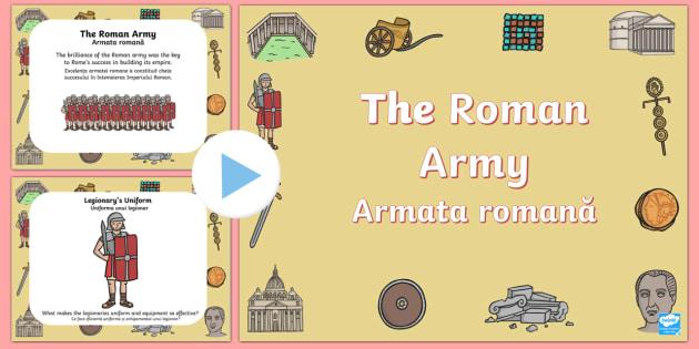 Roman Army PowerPoint English/Romanian
