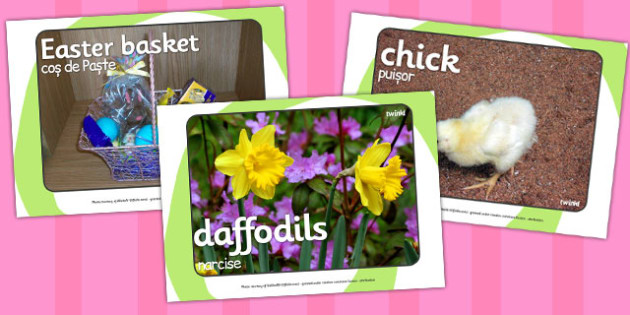 Easter Display Photos Romanian Translation - Romanian, easter