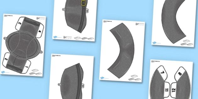 3D Stuarts Cavalier Hat Role Play Printable - 3d, stuarts, cavalier hat, role play, printable