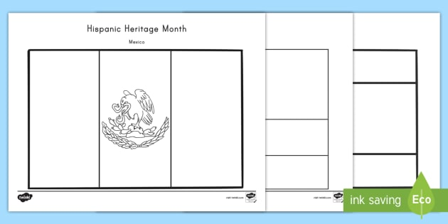 hispanic heritage month coloring pages - new hispanic heritage month flag coloring sheets spanish