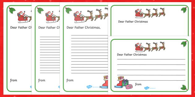Letter to father christmas writing template christmas letter to father christmas writing template christmas nativity jesus xmas xmas spiritdancerdesigns