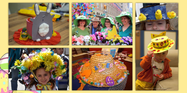 Easter Bonnets Photo Pack - EYFS, Early Years, Easter, Easter Bonnets, parade