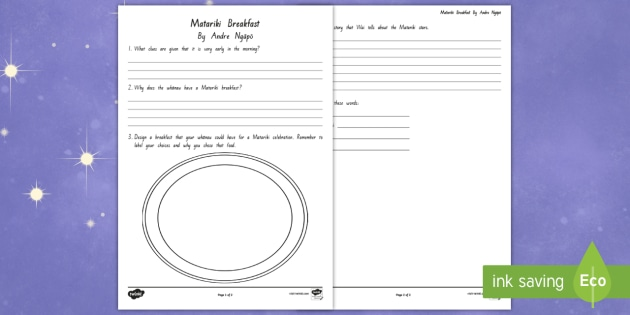 Comprehension Worksheet Activity Sheet To Support Teaching On