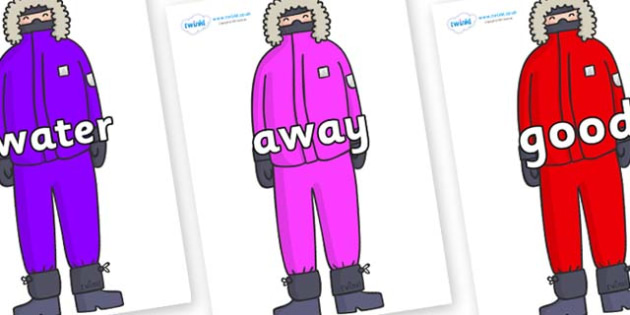 Next 200 Common Words on Arctic Explorers - Next 200 Common Words on  - DfES Letters and Sounds, Letters and Sounds, Letters and sounds words, Common words, 200 common words