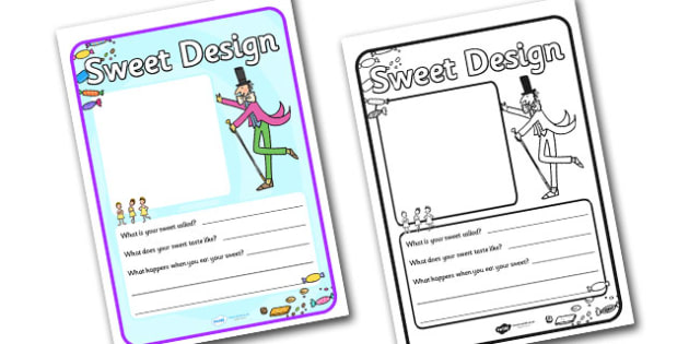Charlies And The Chocolate Factory Design Your Own Sweet