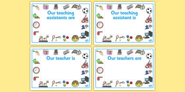 Classroom Welcome Design ~ Editable classroom teacher ta nn signs design