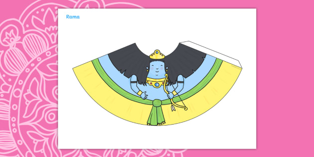 Diwali Cone Character Rama - Diwali, Cone Character, Rama, Story