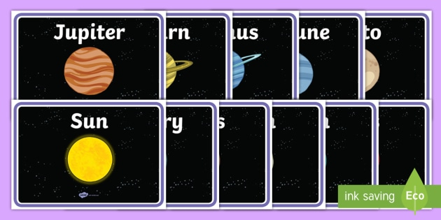 Our Solar System (Planets) Group Signs - Space, group signs, group labels, group table signs, table sign, teaching groups, class group, class groups, table label, space, moon, sun, earth, mars, ship, rocket, alien, launch, stars, planet, planets
