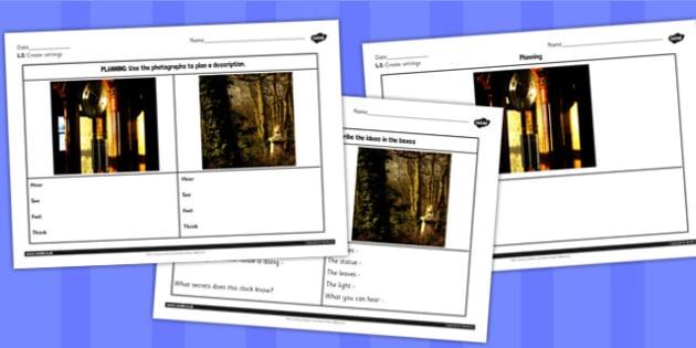 Toms Midnight Garden Creating Settings Worksheets - worksheets