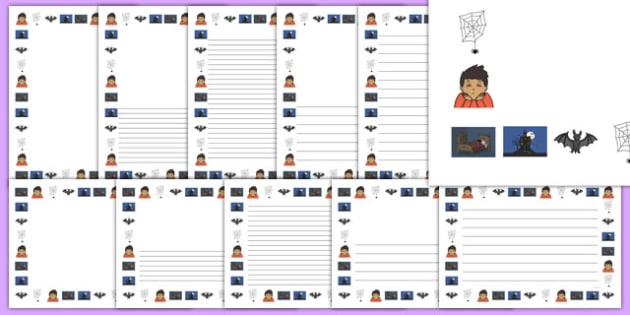 A Scary Dream Page Borders Pack - a scary dream, page borders, pack, page, borders, scary, dream