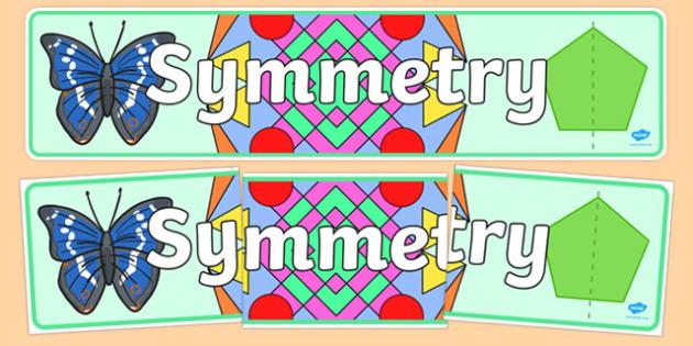 Symmetry Display Banner