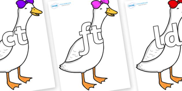 Free Final Letter Blends On Ducky Lucky Teacher Made