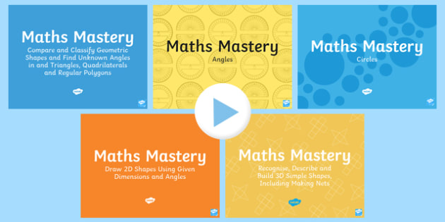 Year 6 Geometry Shape Maths Mastery Resource Pack
