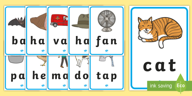 Cvc Word Pictures T L 52677 on At Sign Worksheets For Kindergarten
