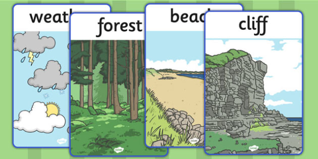 Physical Geography Display Posters - display, poster, geography