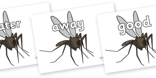 Next 200 Common Words on Mosquitos - Next 200 Common Words on  - DfES Letters and Sounds, Letters and Sounds, Letters and sounds words, Common words, 200 common words