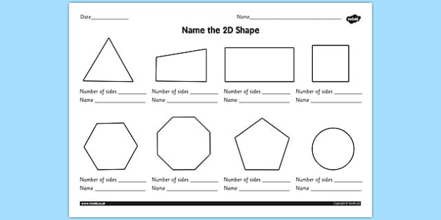 2d Shapes Worksheet 2d Shapes Worksheet Ks1 2d Shape 2d