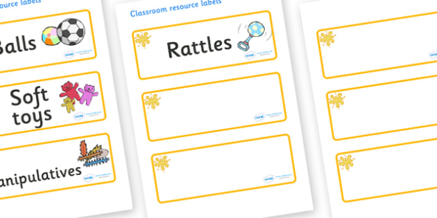 Orange Themed Editable Additional Resource Labels - Themed Label template, Resource Label, Name Labels, Editable Labels, Drawer Labels, KS1 Labels, Foundation Labels, Foundation Stage Labels, Teaching Labels, Resource Labels, Tray Labels, Printable l