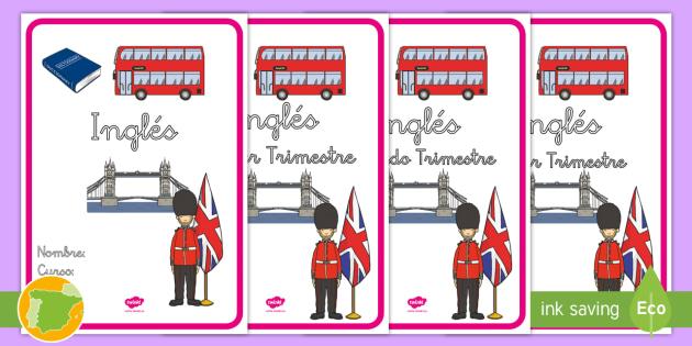 New Portadas Para Cuadernos Inglés Portadas Cuadernos Clase