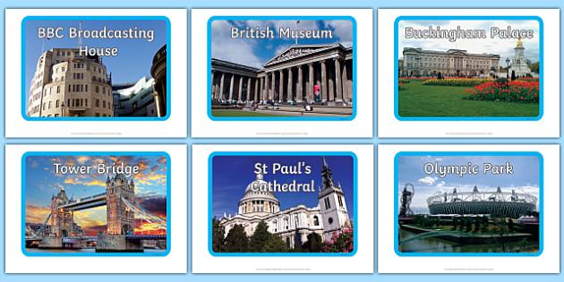 London Landmark Display Photos - London, landmark, captial, England, tourism, tourist, information, landmarks, display, photos, poster, Big Ben, Parliament, Tower Bridge, sight seeing