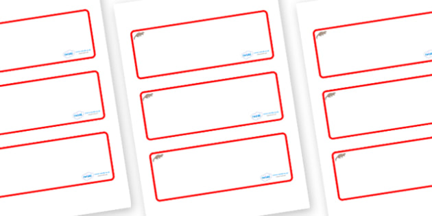 Otter Themed Editable Drawer-Peg-Name Labels (Blank) - Themed Classroom Label Templates, Resource Labels, Name Labels, Editable Labels, Drawer Labels, Coat Peg Labels, Peg Label, KS1 Labels, Foundation Labels, Foundation Stage Labels, Teaching Labels