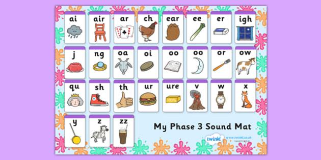 Splat Themed Phase Sound Mat - splat, phase, phase 3, sound mat