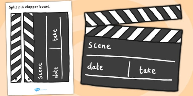 Film Studio Role Play Clapper Board - film studio, role play, clapper board, film studio clapper bored, clapper, board, film studio role play, movie studio