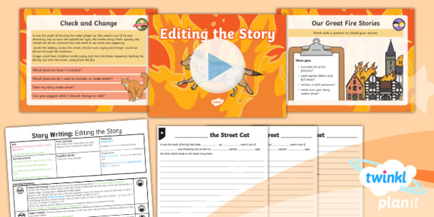 Time Travel: The Great Fire of London: Story Writing 6 Y1 Lesson Pack -Samuel Pepys, Samuel Peeps, 1666, Pudding Lane, Charles II