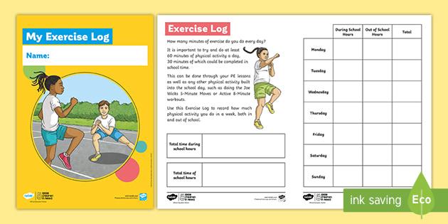 Joe Wicks: Exercise Log