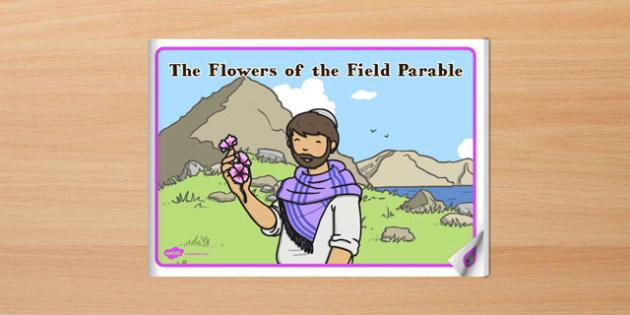 The Flowers of the Field Parable eBook - parables, ebook, flowers