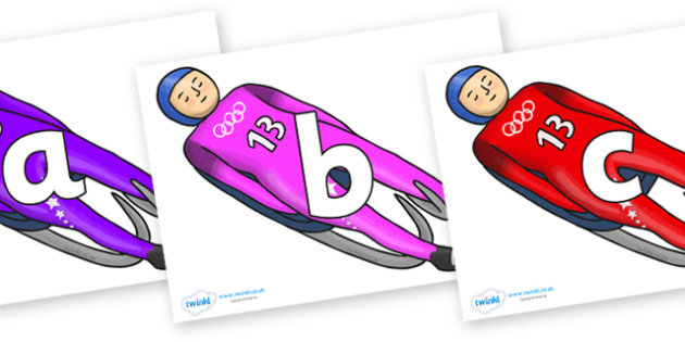 Phoneme Set on Luge - Phoneme set, phonemes, phoneme, Letters and Sounds, DfES, display, Phase 1, Phase 2, Phase 3, Phase 5, Foundation, Literacy