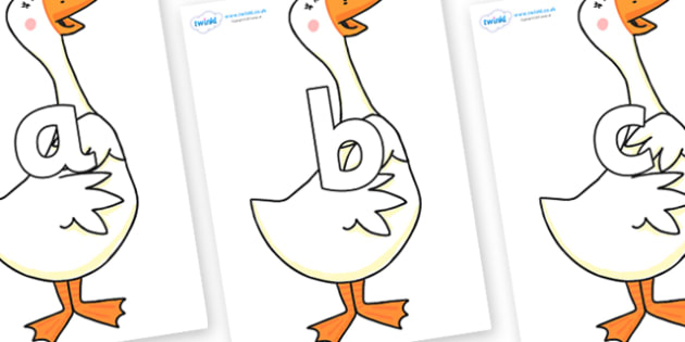Phoneme Set on Hullabaloo Goose to Support Teaching on Farmyard Hullabaloo - Phoneme set, phonemes, phoneme, Letters and Sounds, DfES, display, Phase 1, Phase 2, Phase 3, Phase 5, Foundation, Literacy