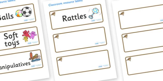 Lark Themed Editable Additional Resource Labels - Themed Label template, Resource Label, Name Labels, Editable Labels, Drawer Labels, KS1 Labels, Foundation Labels, Foundation Stage Labels, Teaching Labels, Resource Labels, Tray Labels, Printable lab